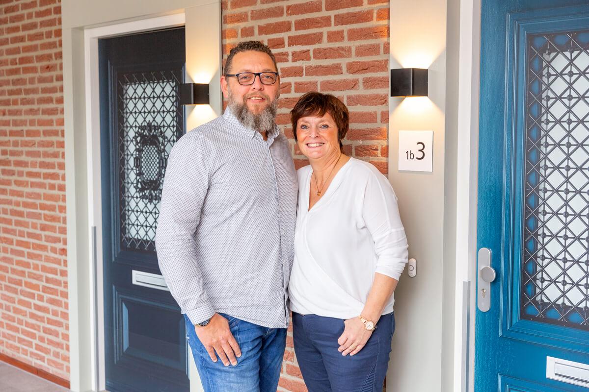 Zorgondernemersechtpaar Suzanne en Jeffrey Gielkens