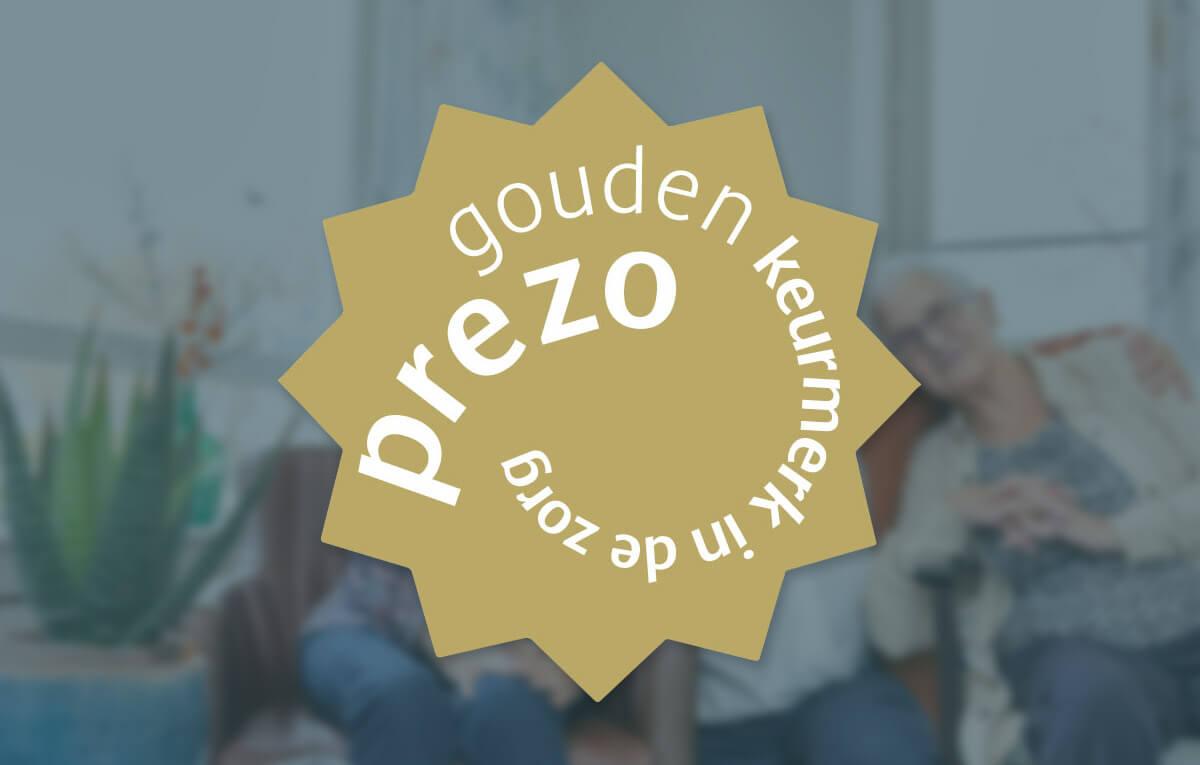 Wij zijn trots op het feit dat wij zijn voorgedragen voor het PREZO Gouden Keurmerk